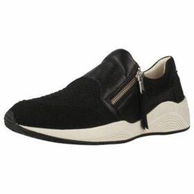 Geox  D OMAYA  women's Slip-ons (Shoes) in Black