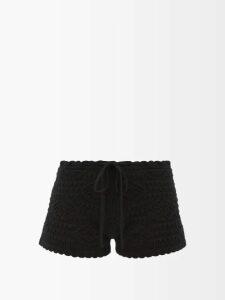 Brock Collection - Kolbie Boat Neck Cashmere Blend Sweater - Womens - Light Pink