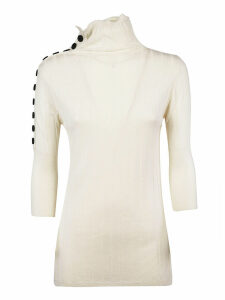 Eudon Choi Turtle Neck Knitted Top