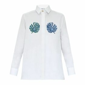 My Pair of Jeans - Tropical Embroidered Shirt
