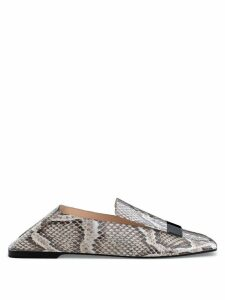 Sergio Rossi SR1 customisable slippers - Grey