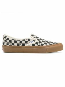 Vans checked slip-on sneakers - Black