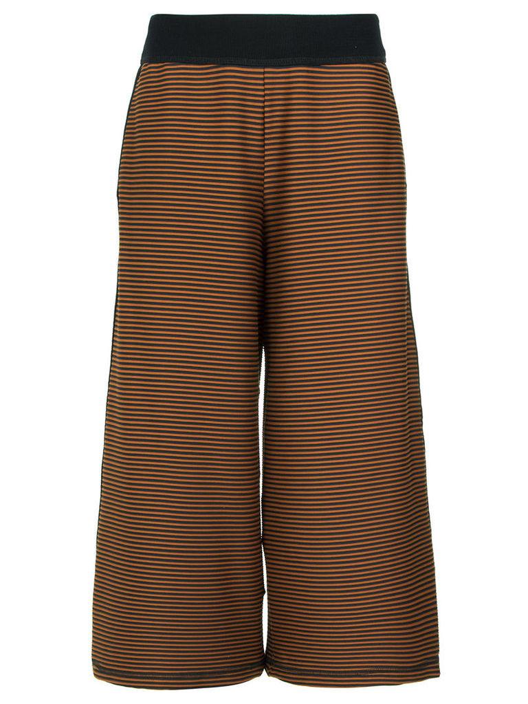 Alcaçuz Celebrar pantacourt trousers - Brown