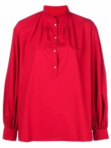 Nili Lotan henley blouse - Red