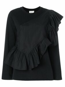 3.1 Phillip Lim Flamenco long-sleeve T-shirt - Black