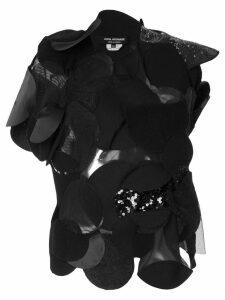 Junya Watanabe Comme des Garçons Pre-Owned patchwork circles top -