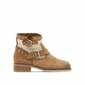 Soly Leather Ankle Boots