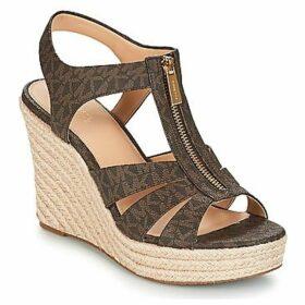MICHAEL Michael Kors  BERKLEY  women's Sandals in Brown