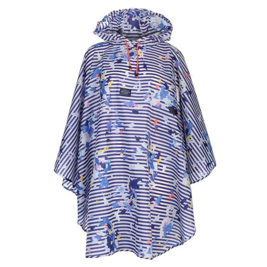JOULES Joules Print Poncho Ld72