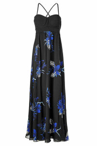 Proenza Schouler Anniversary Collection Floor-Length Printed Gown
