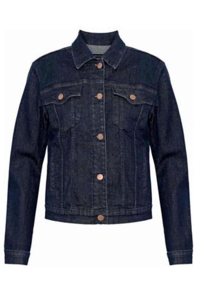 J Brand Woman Denim Jacket Dark Denim Size L