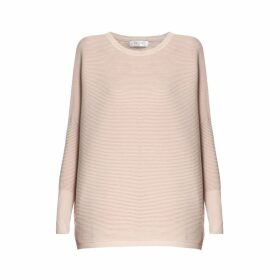 PAISIE - Paisie Ribbed Jumper in Blush