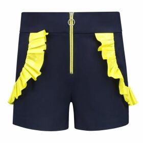 blonde gone rogue - Endless Summer High Waisted Shorts In Navy Blue