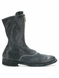 Guidi zip front boots - Blue