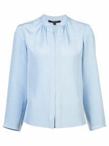 Derek Lam Kara Long Sleeve Blouse - Blue