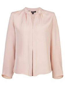 Derek Lam Kara Long Sleeve Blouse - NEUTRALS