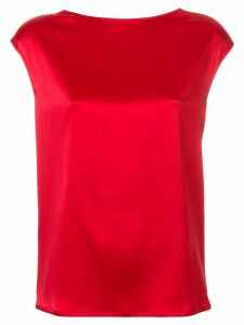 Gianluca Capannolo v-back blouse - Red