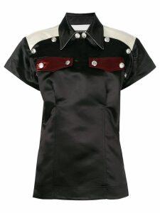 Calvin Klein 205W39nyc front pin pockets blouse - Black