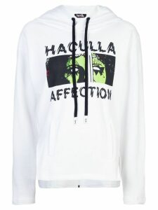 Haculla Affection hooded sweatshirt - White