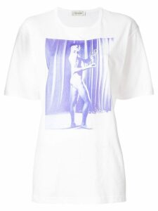 Wales Bonner print short-sleeve T-shirt - White