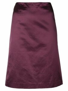 Romeo Gigli Pre-Owned straight short skirt - PINK