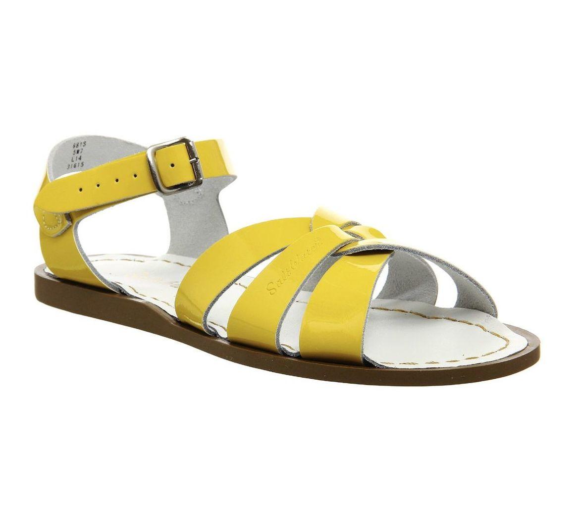 Salt Water Salt Water Original Sandals, Yellow