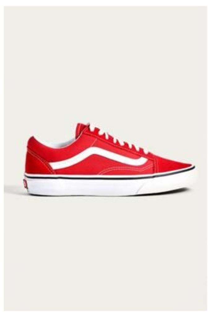 Vans Old School Red Trainers, red