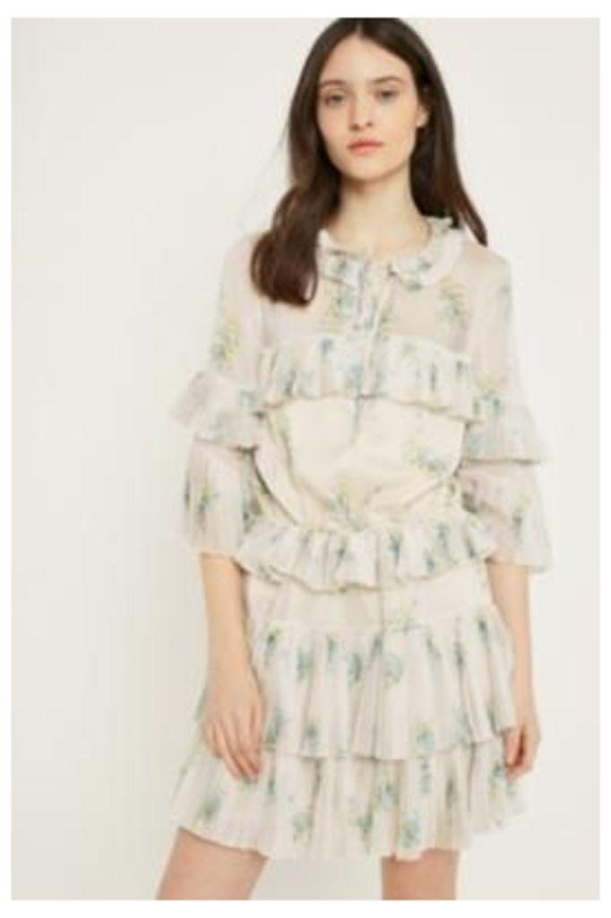 Stevie May Nostalgia Mini Dress, white