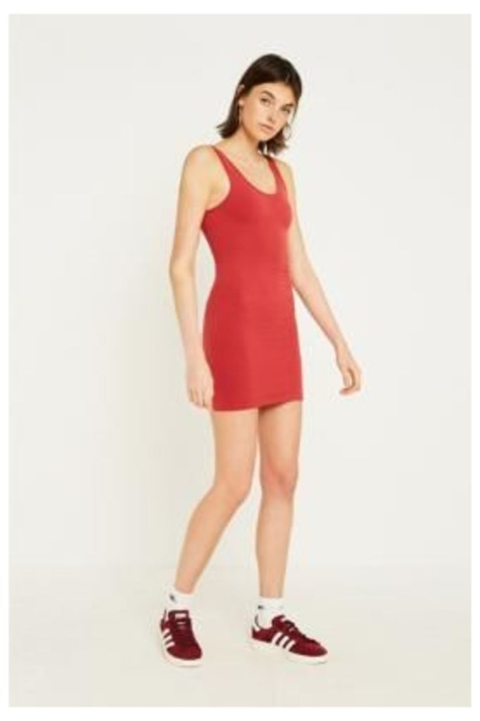 UO Seamless Bodycon Dress, red