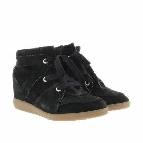 Isabel Marant Sneakers - Bobby Sneaker Velvet Stainer Basket Faded Black - black - Sneakers for ladies