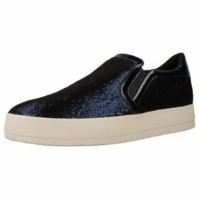 Geox  D HIDENCE  women's Slip-ons (Shoes) in Blue