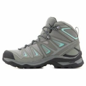 Salomon  X Ultra 3 Mid Gtx  women's Walking Boots in Grey