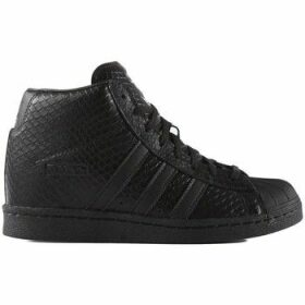 adidas  Superstar UP W  women's Shoes (High-top Trainers) in Black