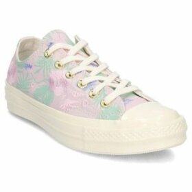 Converse  Chuck Taylor 70 Palm Print OX  women's Shoes (Trainers) in multicolour