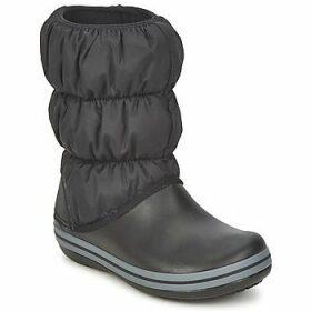Crocs  WINTER PUFF BOOT  women's Snow boots in Black