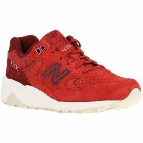 New Balance  580  women's Shoes (Trainers) in Red
