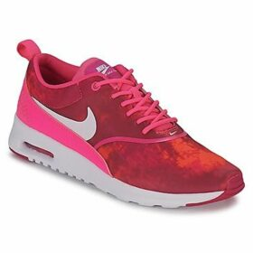 Nike  AIR MAX THEA PRINT  women's Shoes (Trainers) in Pink