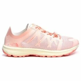 The North Face  Litewave Flow Lace  women's Running Trainers in Pink