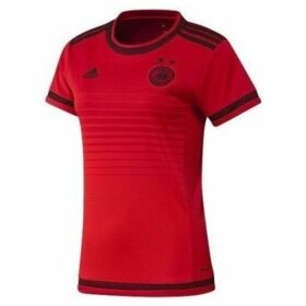 adidas  Dfb Woman Niemcy  women's T shirt in Red