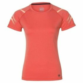 Asics  Icon SS Top  women's T shirt in Orange