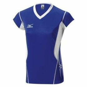 Mizuno  Premium Cap Sleeve  women's T shirt in Blue