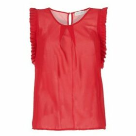 Molly Bracken  COURAY  women's Blouse in Red