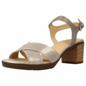 Geox  D ANNYA MID SANDAL  women's Sandals in Grey