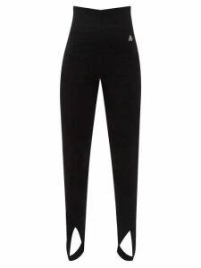 Maison Rabih Kayrouz - Charmeuse Bib-panel Blouse - Womens - Pink