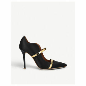 Maureen 100 nubuck court shoes