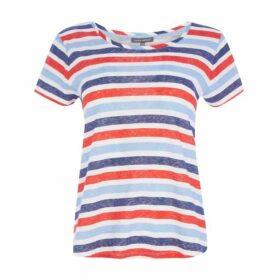 Striped Wide Neck TeeShirt