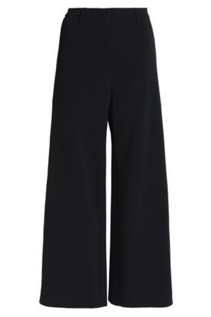 Peter Pilotto Woman Crepe Wide-leg Pants Black Size 16
