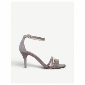 Genesis beaded-trim suede sandals