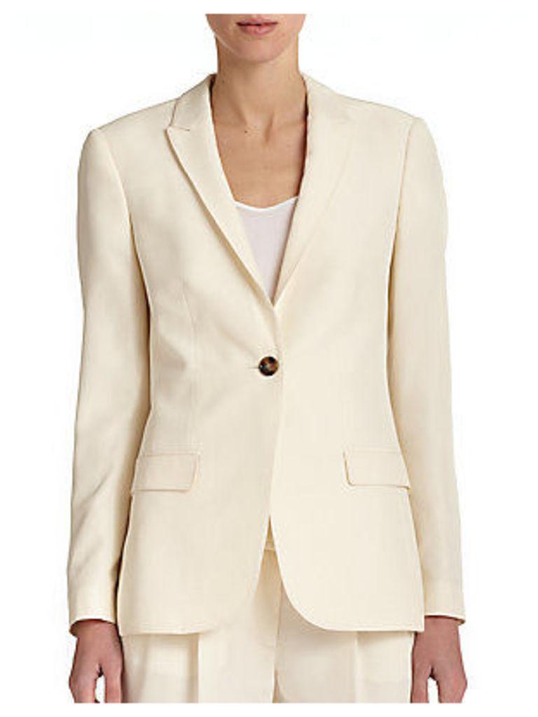 Larston Silk Suiting Jacket