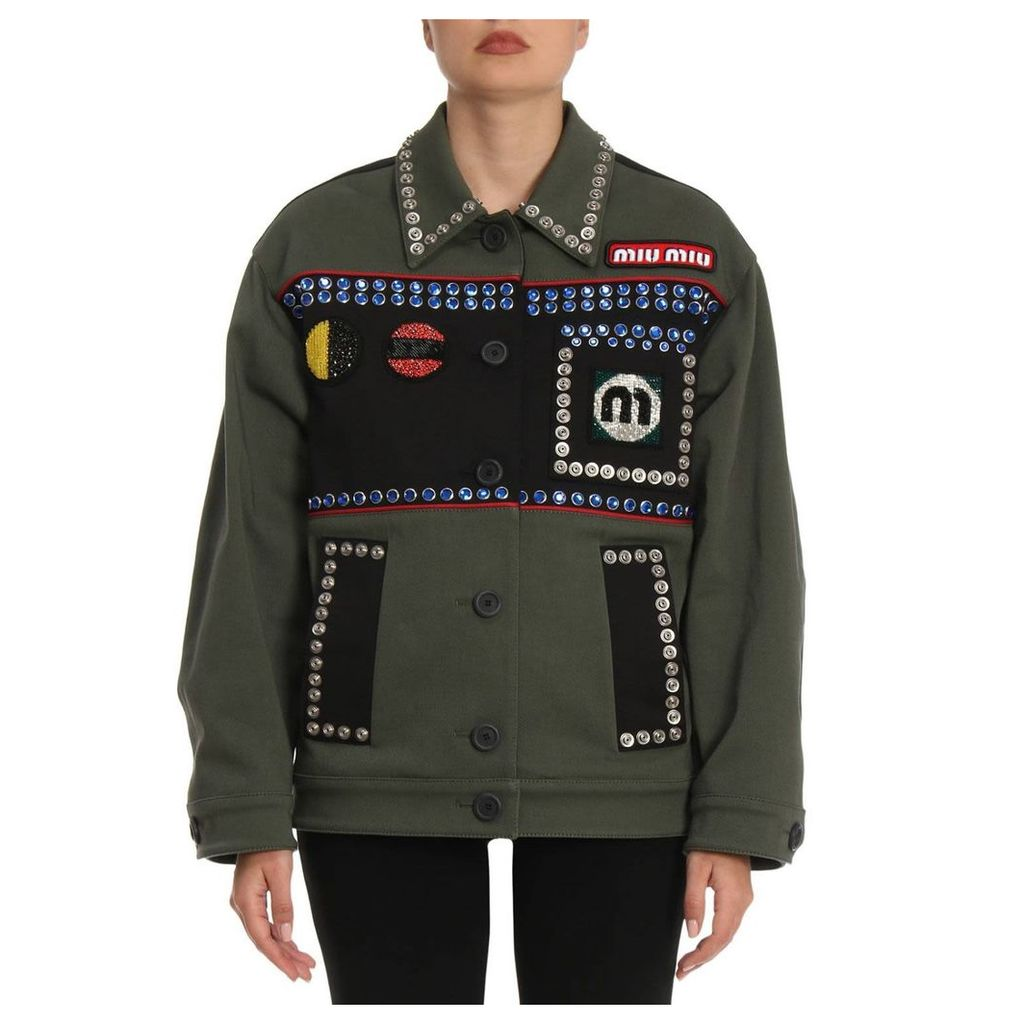 Jacket Jacket Women Miu Miu